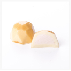 NO SUGAR ADDED WHITE CHOCOLATE AND RASPBERRY BY GENAUVA CHOCOLATES