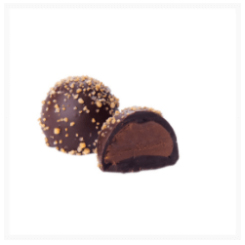 BRUSSELS DARK CHOCOLATE, TRUFFLE WITH ARABICA COFFEE​​​​​​​ BY GENAUVA CHOCOLATES BY GENAUVA CHOCOLATES