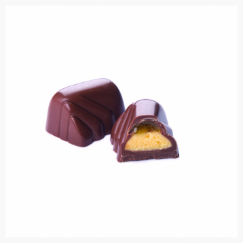 LOUISE-MARIE MILK CHOCOLATE, MANGO AND CORIANDER