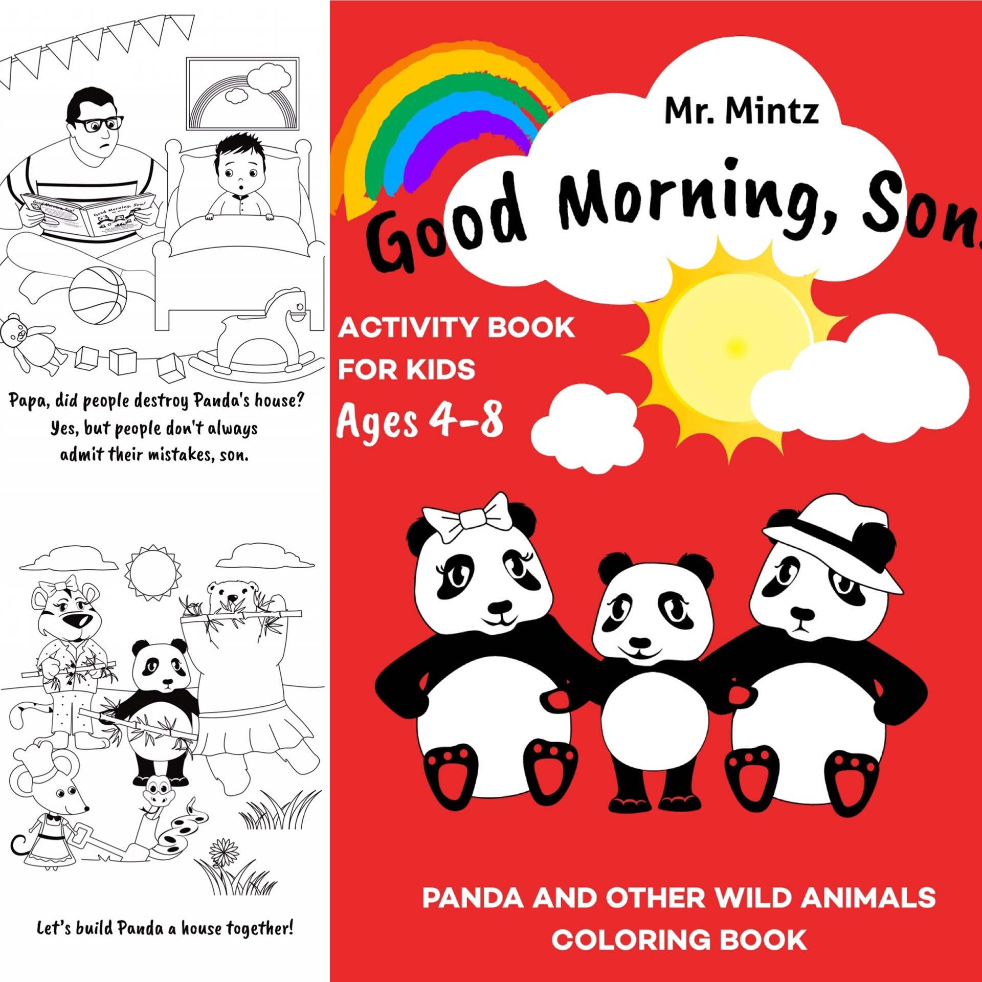 BEST KIDS ACTIVITY COLORING BOOK FOR PANDA LOVERS