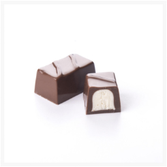 NO SUGAR ADDED MILK CHOCOLATE AND COCONUT BY GENAUVA CHOCOLATES