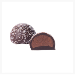 ALBERT DARK CHOCOLATE TRUFFLE WITH ORIGINE PERUVIAN COCOA BEAN BY GENAUVA CHOCOLATES​​​​​​​