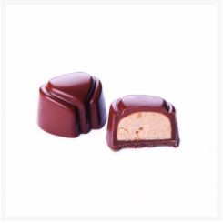 FABIOLA MILK CHOCOLATE, APPLE, PEAR AND SPECULOOS BY GENAUVA CHOCOLATES