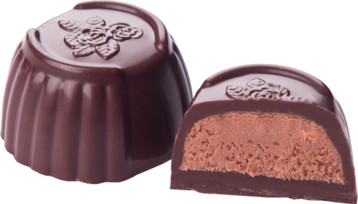 NO SUGAR ADDED DARK CHOCOLATE AND HAZELNUT BY GENAUVA CHOCOLATES