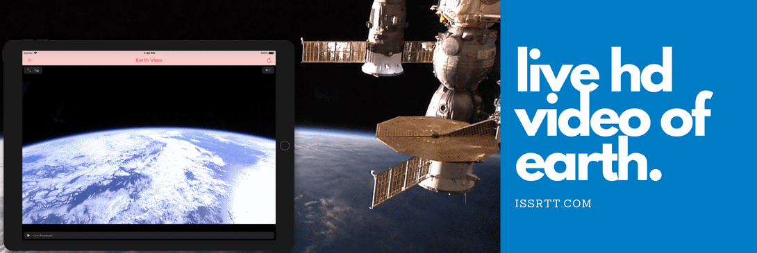 Live HD video of Earth from the HDEV experiment aboard the ISS