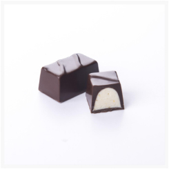 NO SUGAR ADDED ​​​​​​​DARK CHOCOLATE AND ORANGE BY GENAUVA CHOCOLATES