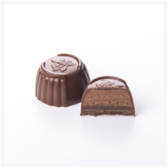 NO SUGAR ADDED MILK CHOCOLATE AND HAZELNUT BY GENAUVA CHOCOLATES